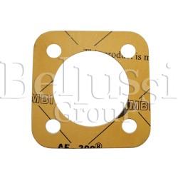 Square gasket for aluminium heater