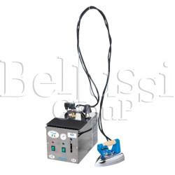 Wytwornica pary Pratika INOX (zdjęcie przedstawia urządzenie wraz z akcesoriami sprzedawanymi osobno)