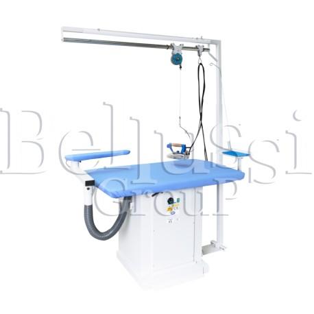 Stół prasowalniczy prostokątny MP/A (zdjęcie przedstawia urządzenie wraz z akcesoriami sprzedawanymi osobno)