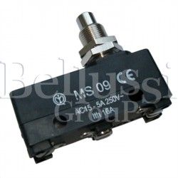 Microswitch of extractor foot button MS09