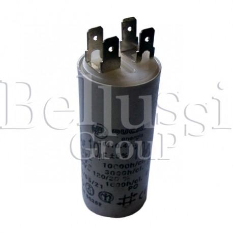 Kondensator Simel 10 µf silnika odsysacza do stołów typu BR i MP