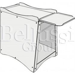 Base for pneumatic digital fusing press PL/T PNEUM