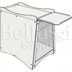 Base for pneumatic digital fusing press PL/T PNEUM.
