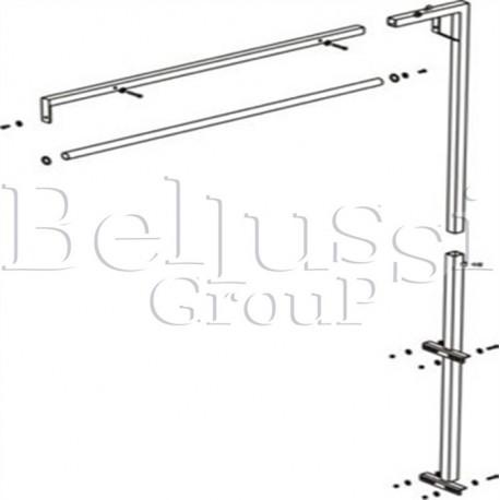 Ramię do podwieszenia żelazka do stołów BR/A, FR/F, BR/A-L, BR/F-VP bez lampy i zawiesia  (II/R/1)