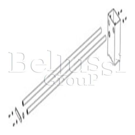 Ramię do podwieszenia żelazka ( część górna ) bez lampy i zawiesia  do stołów BR/A-S, BR/A-RS (II/T/1)