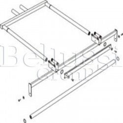 Handle for sling and lamp (the upper part) for ironing tables:MP/A-R, MP/A-S i MP/A-RS.