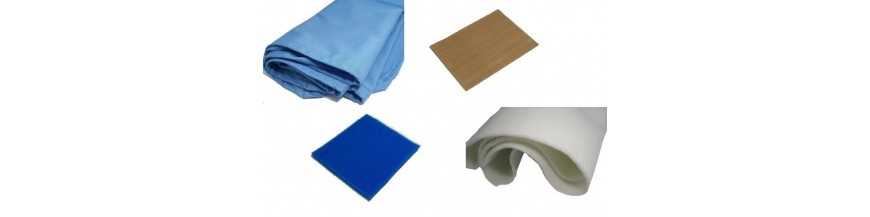 COVERS, FELTS, PADDINGS