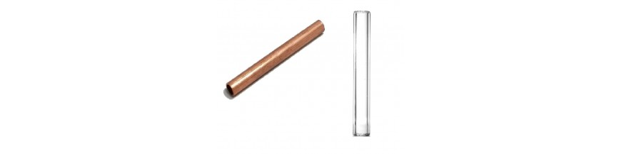 GLASS LEVELS, COPPER TUBES